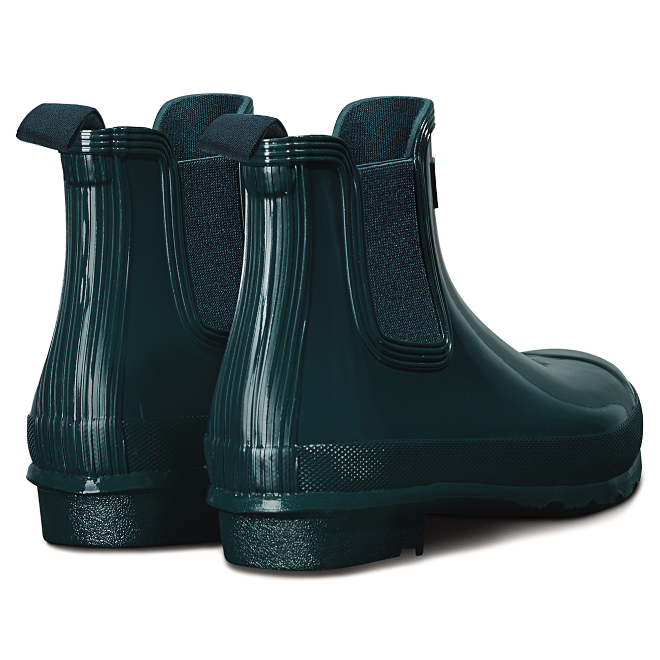 Ladies Hunter Original Chelsea Gloss Snow Ankle Festival Wellingtons All Sizes