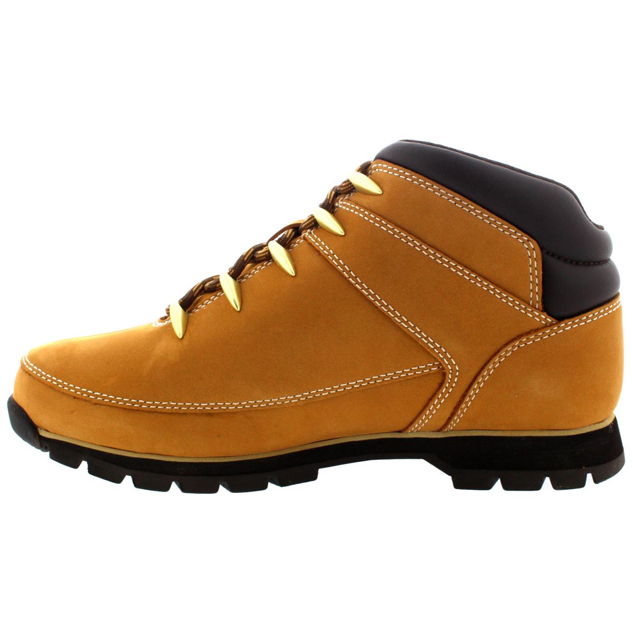 Mens Timberland Euro Sprint Hiker Winter Warm Snow Causal Rain Boots All Sizes