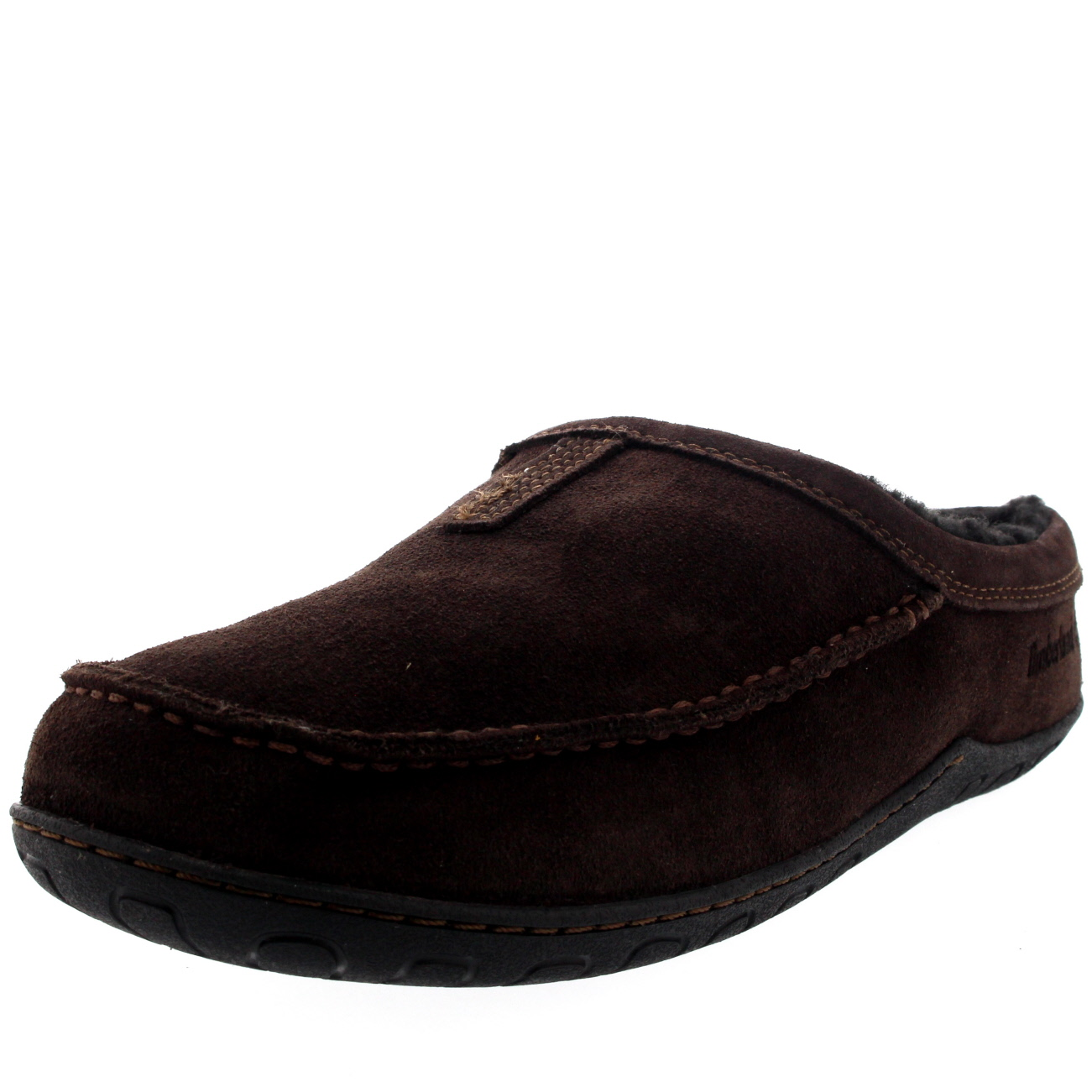 homme timberland kick around mule cuir fourrure mules hiver chaussure pantoufle toutes tailles. Black Bedroom Furniture Sets. Home Design Ideas