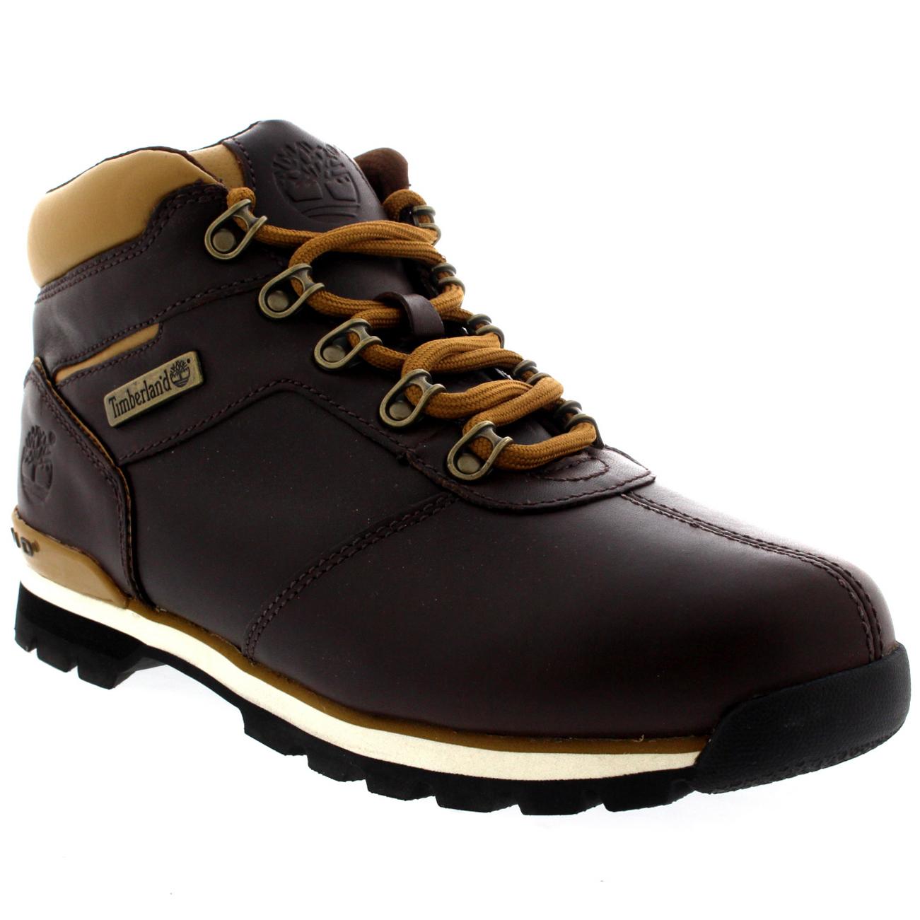 timberland mens splitrock 2 hiker boots navy blue