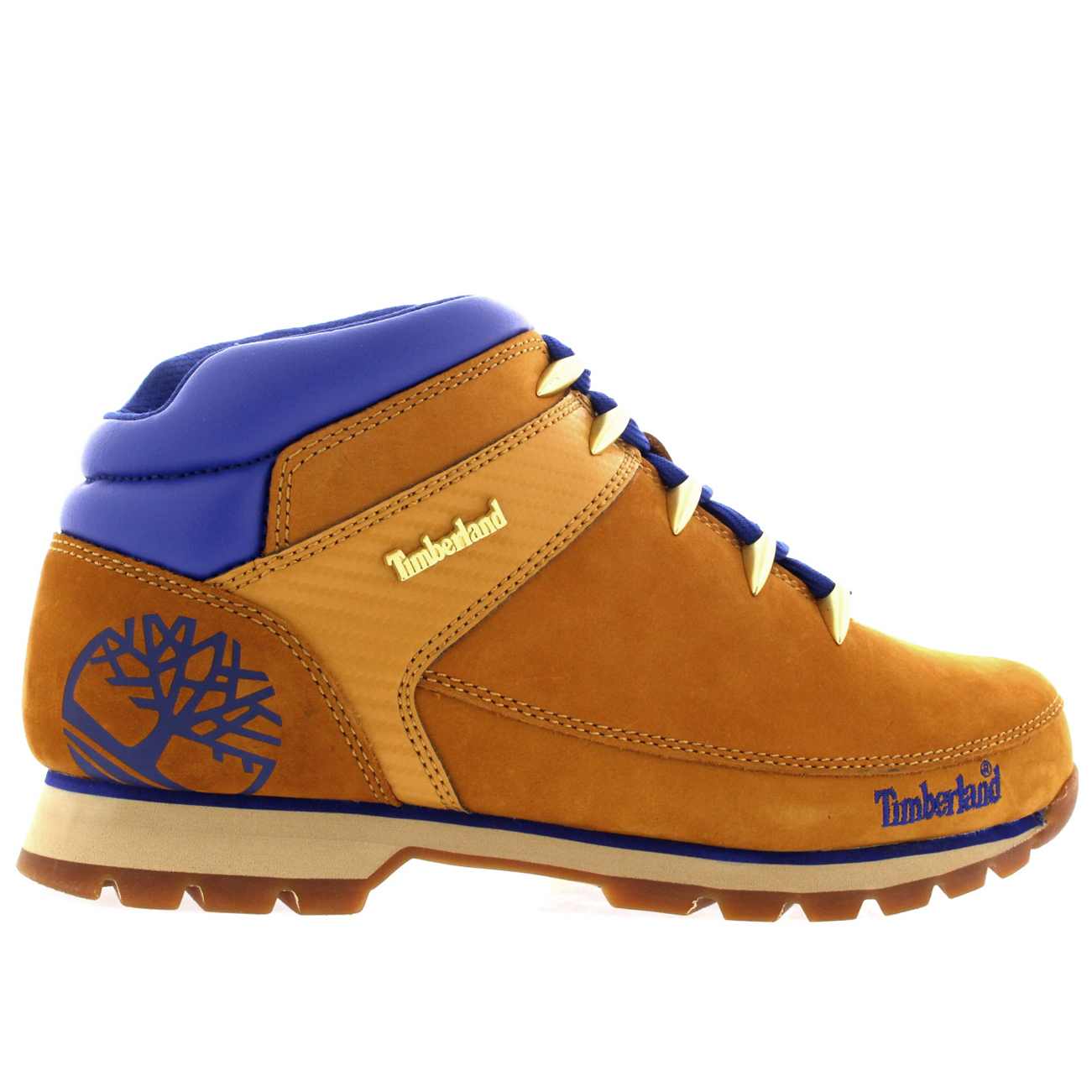 timberland euro sprint hiker boots wheat men's size