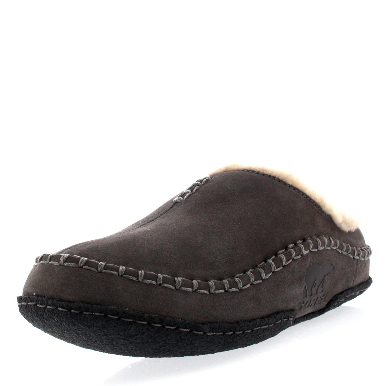 Mens Bedroom Slippers Leather Mens Sorel Falcon Ridge Casual Fur Suede Winter Shoes House