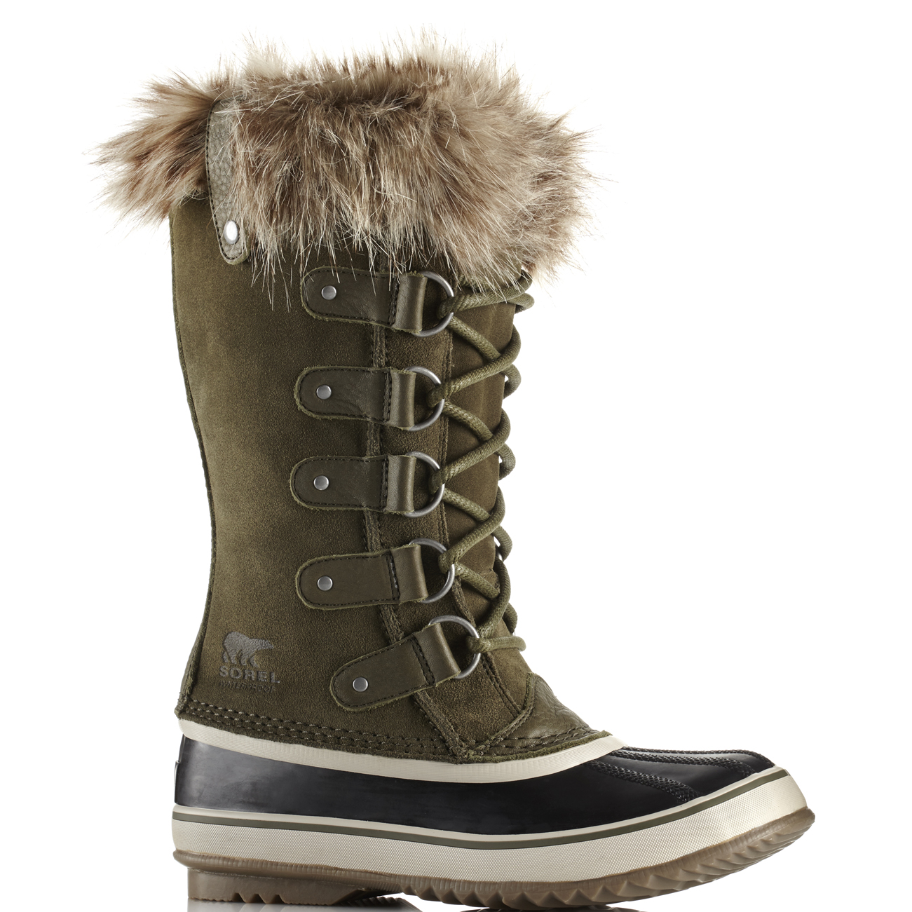 Ladies Sorel Joan Of Arctic Walking Trekking Snow Warm Hiking Boot All Sizes