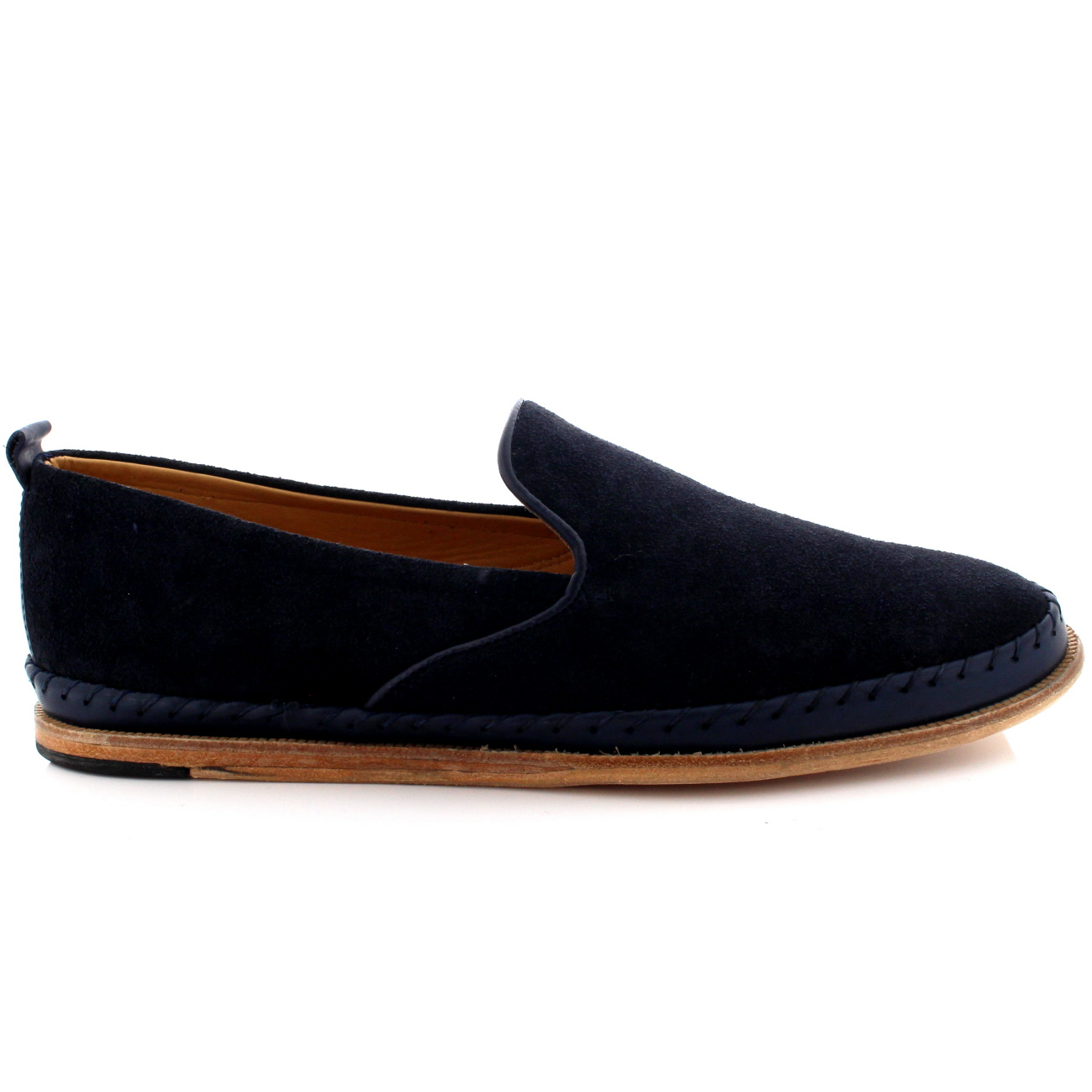 Mens-H-By-Hudson-Macuco-Casual-Flat-Loafer-