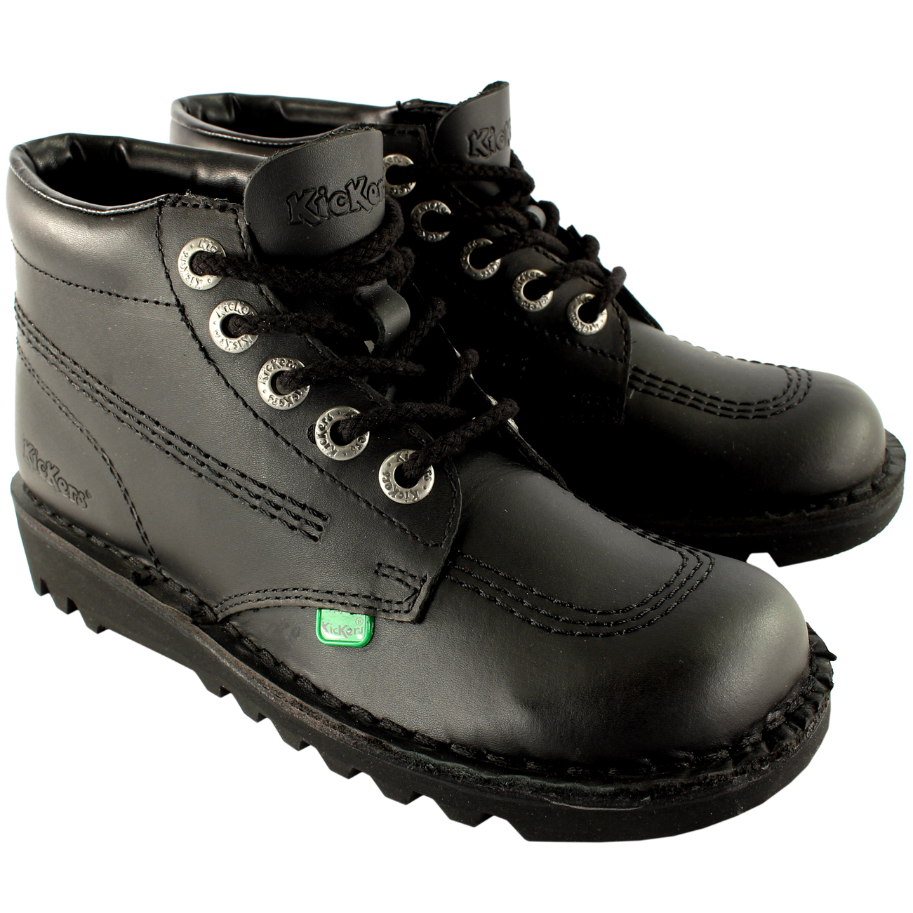 Mens Kickers Kick Hi M Core Leather Classic Office Work Boots ...