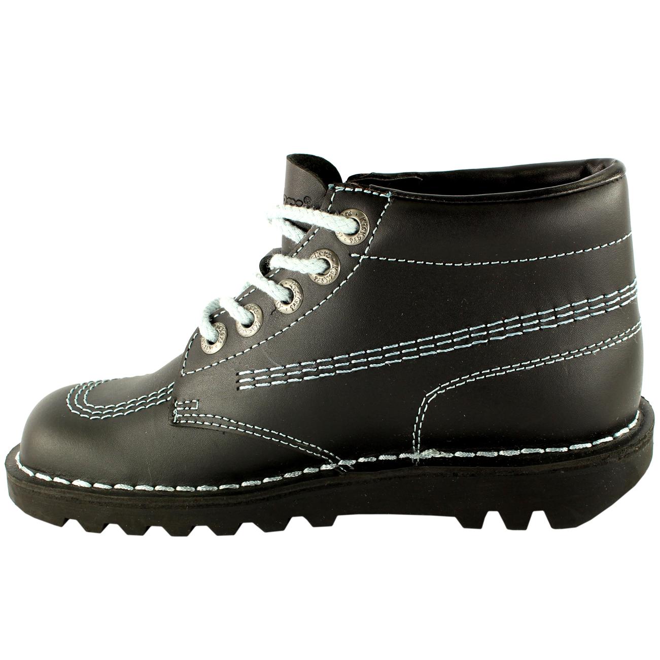 Kickers Kick pour Homme Hi M Core Cuir Classique Bureau Travail Bottes Chaussures Toutes Les Tailles