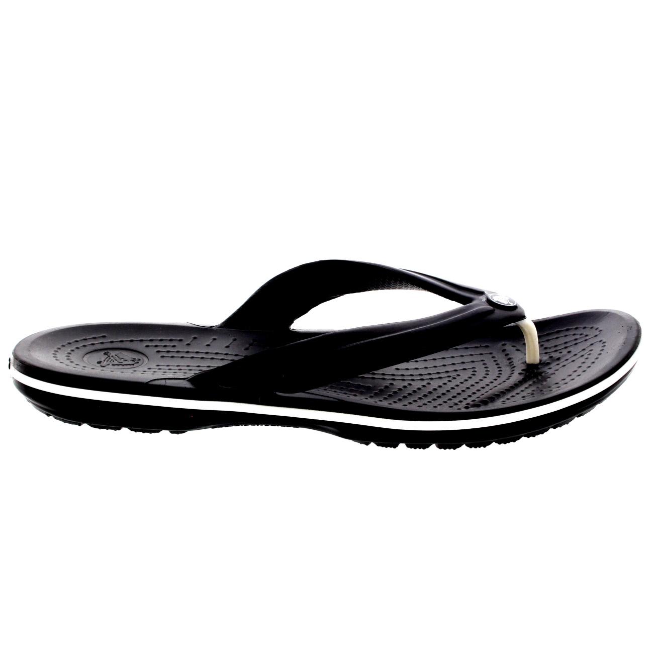 unisex womens mens crocs crocband flip holiday summer beach flip flops all sizes ebay. Black Bedroom Furniture Sets. Home Design Ideas