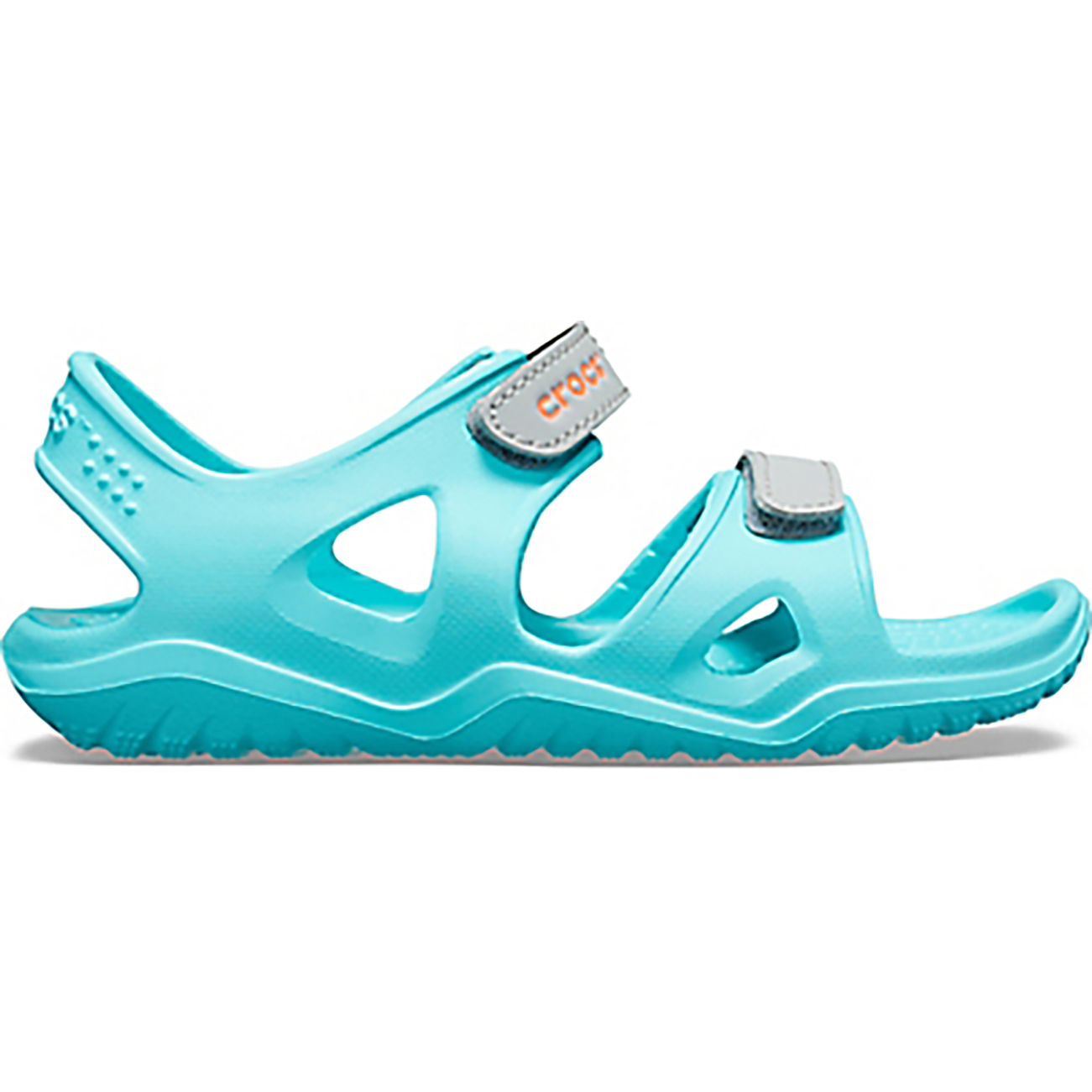 Unisex Kids Crocs Swiftwater River Sandal Pool Sea Holiday Summer Shoe All Sizes