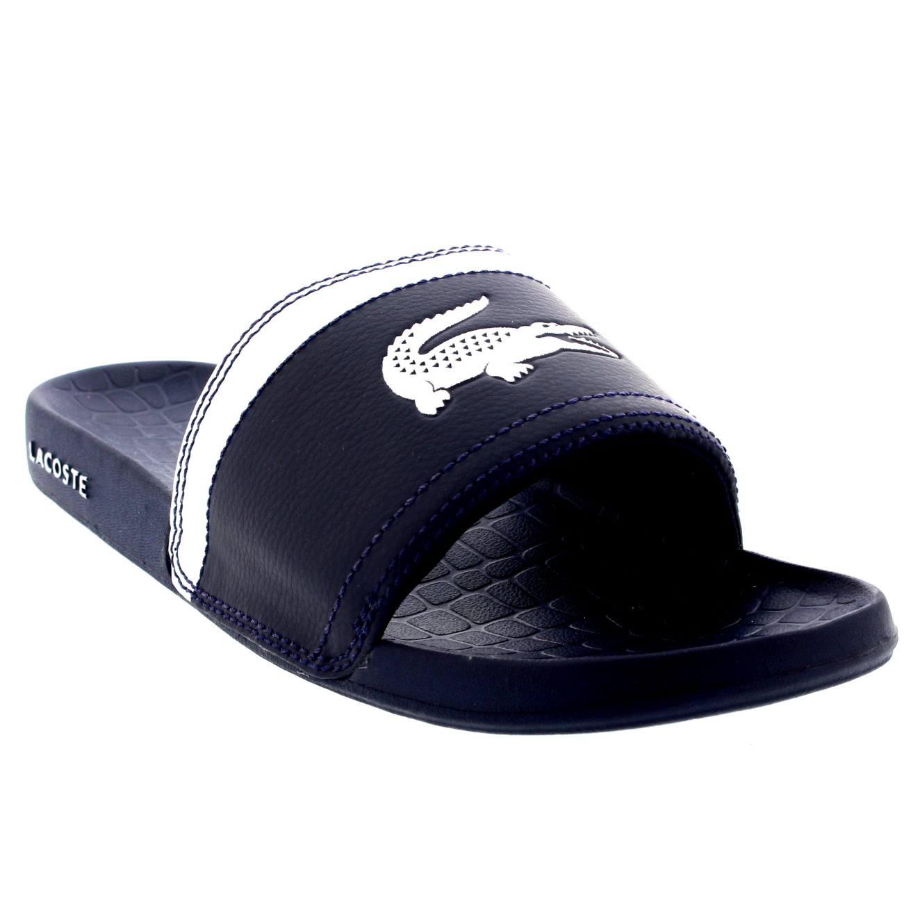 e836bd01d Mens Lacoste Fraiser Slides Beach Synthetic Casual Holiday Pool ...