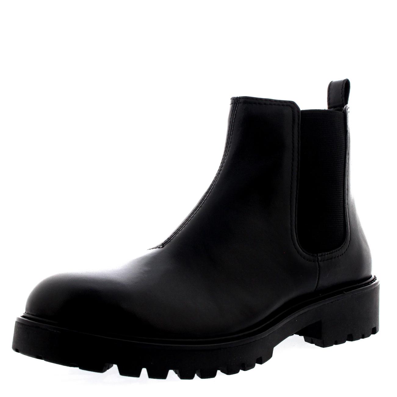 ladies vagabond kenova black elasitc low heel winter. Black Bedroom Furniture Sets. Home Design Ideas