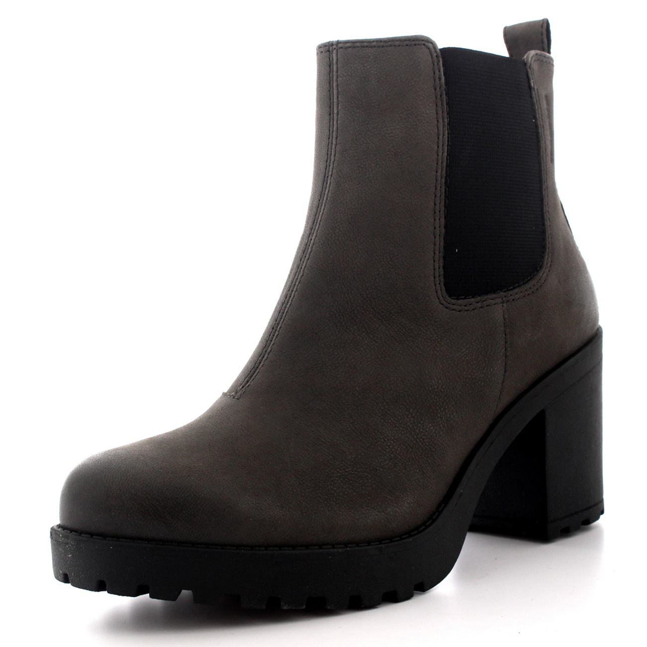 Ladies Vagabond Grace Work Fashion Casual Low Heel Zip Ankle Boots ...