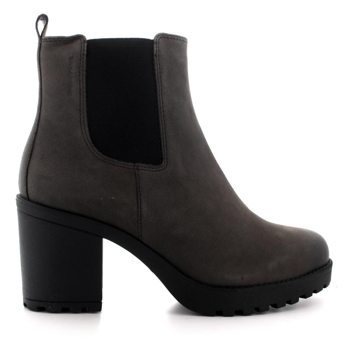 Ladies Vagabond Grace Work Fashion Casual Low Heel Zip Ankle Boots ...