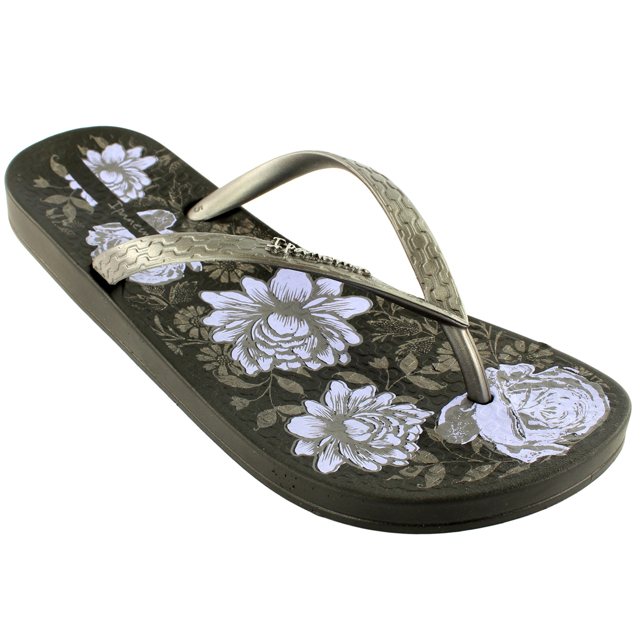 damen ipanema petal ii sommer flip flop rutsch auf floral. Black Bedroom Furniture Sets. Home Design Ideas