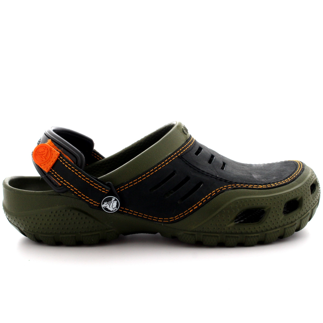 herren crocs yukon sport schl pfen leicht leder clogs sandalen schuhe eu 36 50 ebay. Black Bedroom Furniture Sets. Home Design Ideas