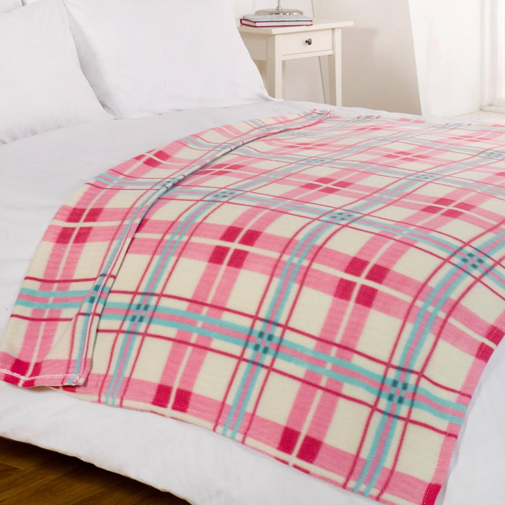 Luxury Decorative Soft Sofa Bed Fleece Throw Blanket 120 x 150cm