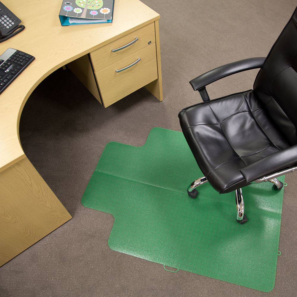 es robbins office carpet protector chair floor mat lime 36 x 48