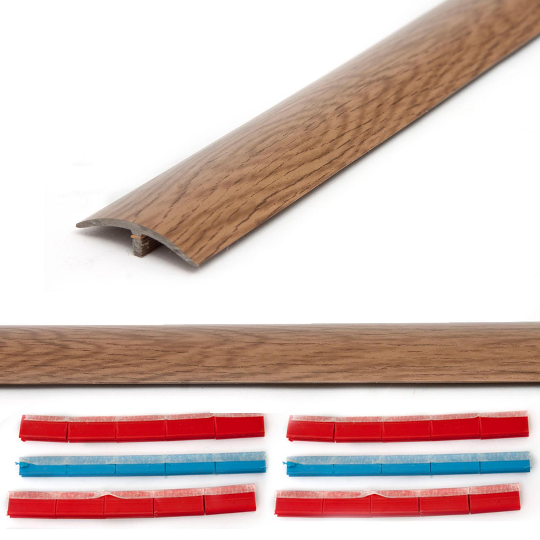 DIY Stikatak Floor Pro Laminate Floor Threshold - Walnut Effect - 1.8m