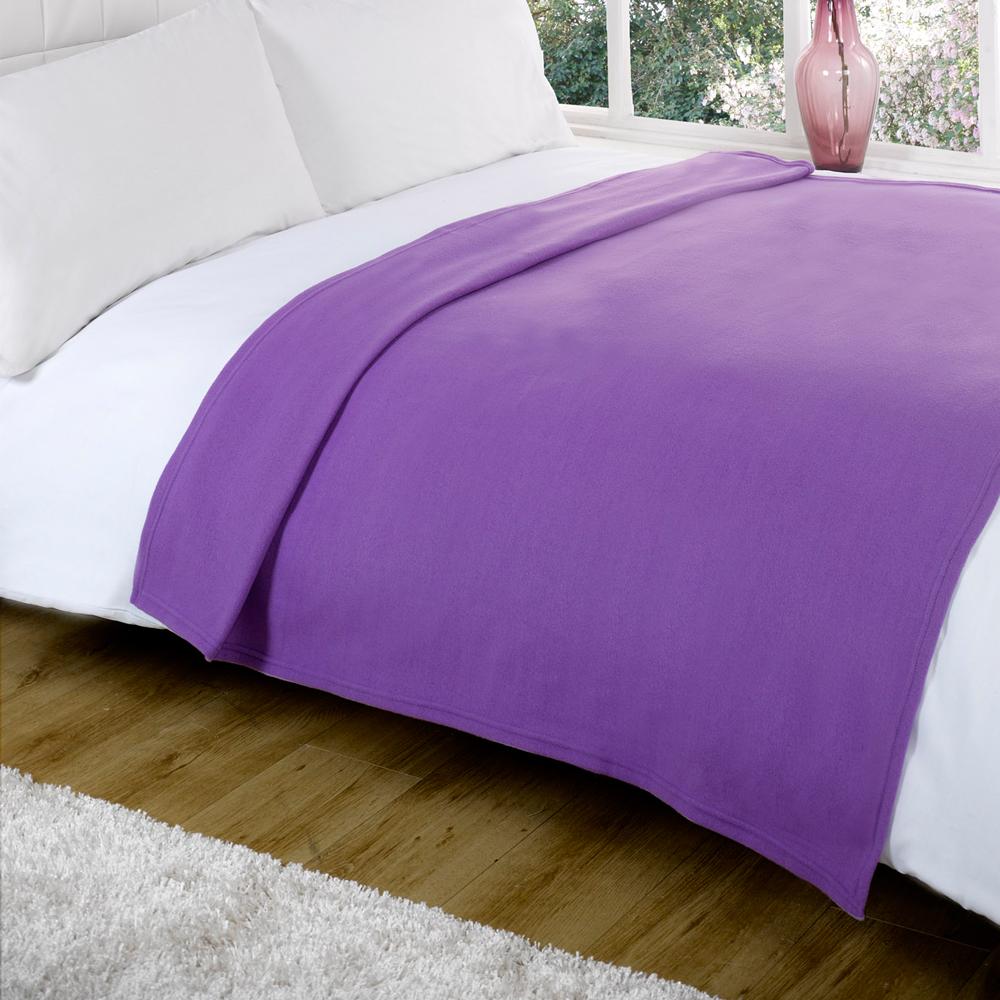 Luxury decorative soft sofa bed fleece throw blanket 120 x 150cm ebay - Decorative throws for furniture ...