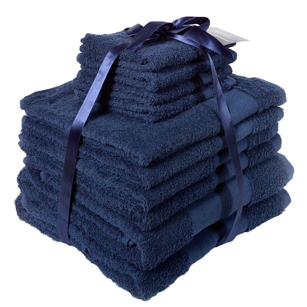 Luxury 100% Egyptian Cotton Hand/Bath Towel Bale - 10 Piece Set