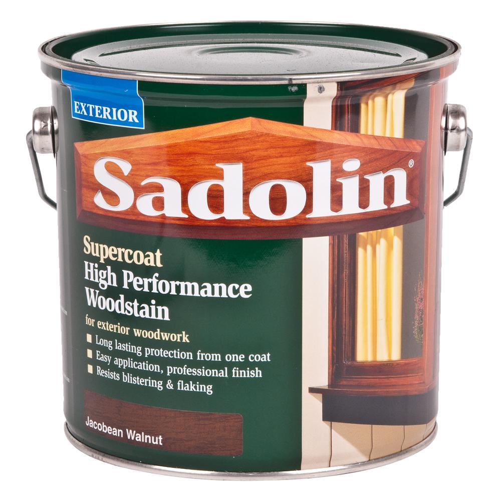 DIY Sadolin Exterior Supercoat Woodstain - 2.5L - Jacobean Walnut