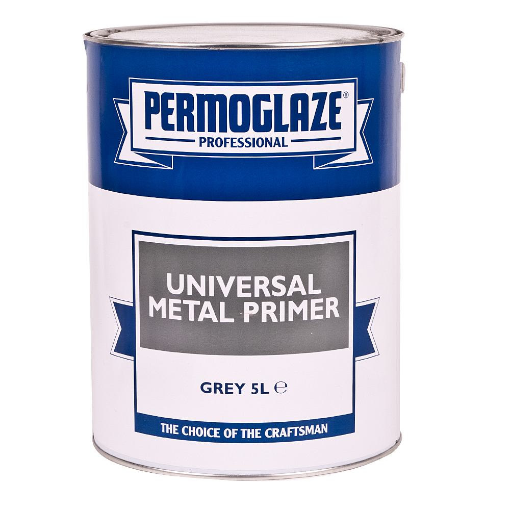 DIY Permoglaze Universal Metal Primer - 5L - Grey