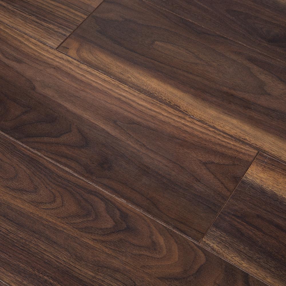 8mm dark walnut oak laminate flooring pallet 15 for Walnut laminate flooring
