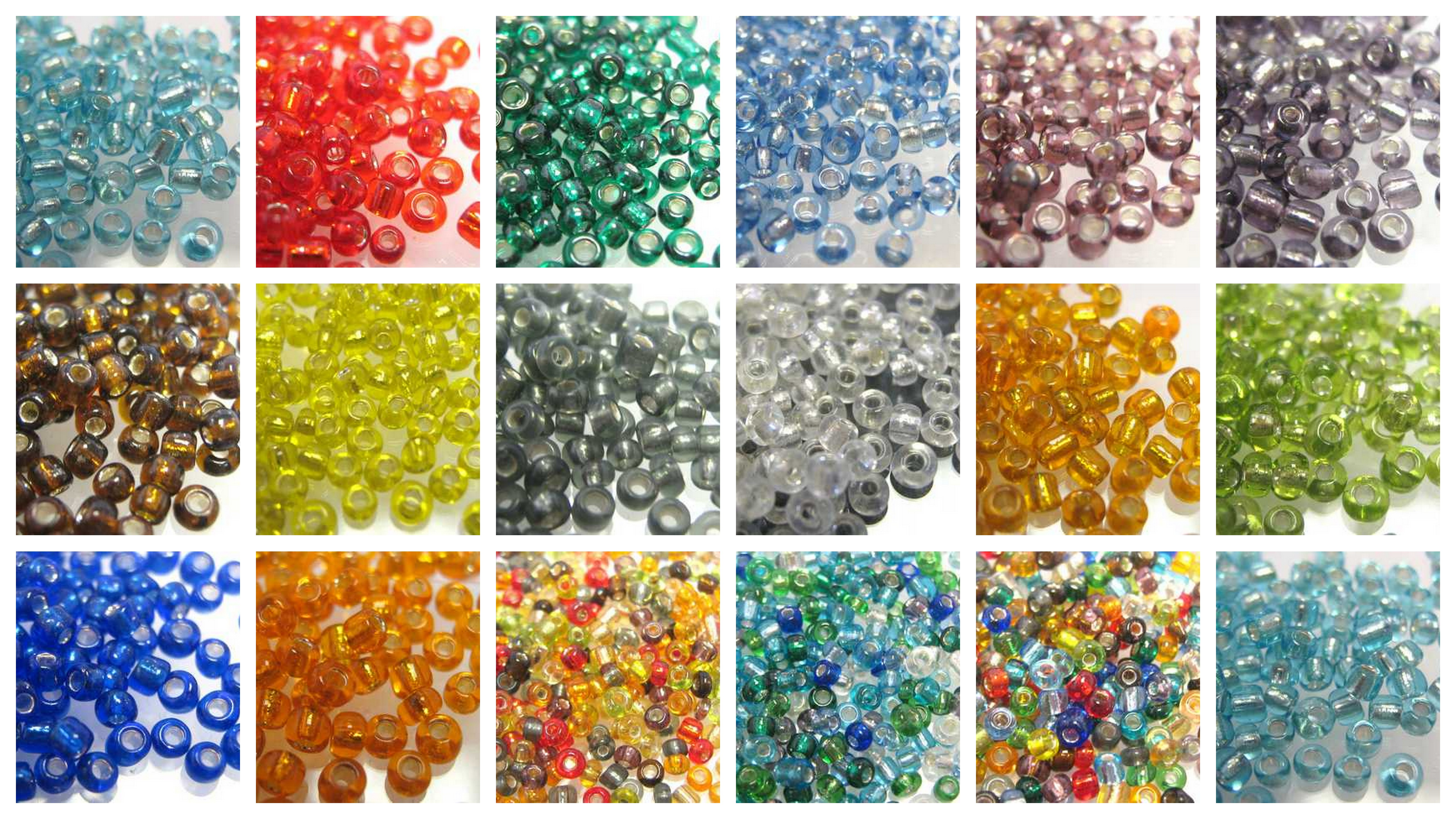 55g-SIZE-11-0-SILVER-LINED-SEED-BEADS-APPROX-5500-BEADS-CHOICE-OF-MANY-COLOURS