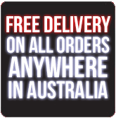 Free Delivery On All Orders Anywhere in Australia