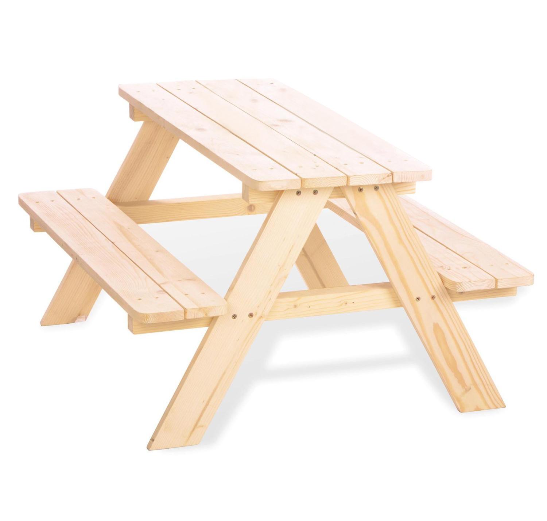 Charles Bentley Children 39 S Kids Outdoor Furniture Wooden Patio Picnic Bench Ebay