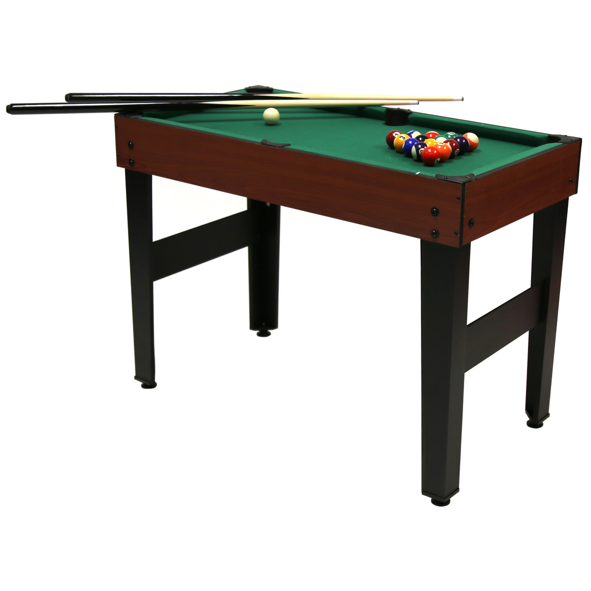4 in 1 multi sports table including pool football push for Table 4 en 1