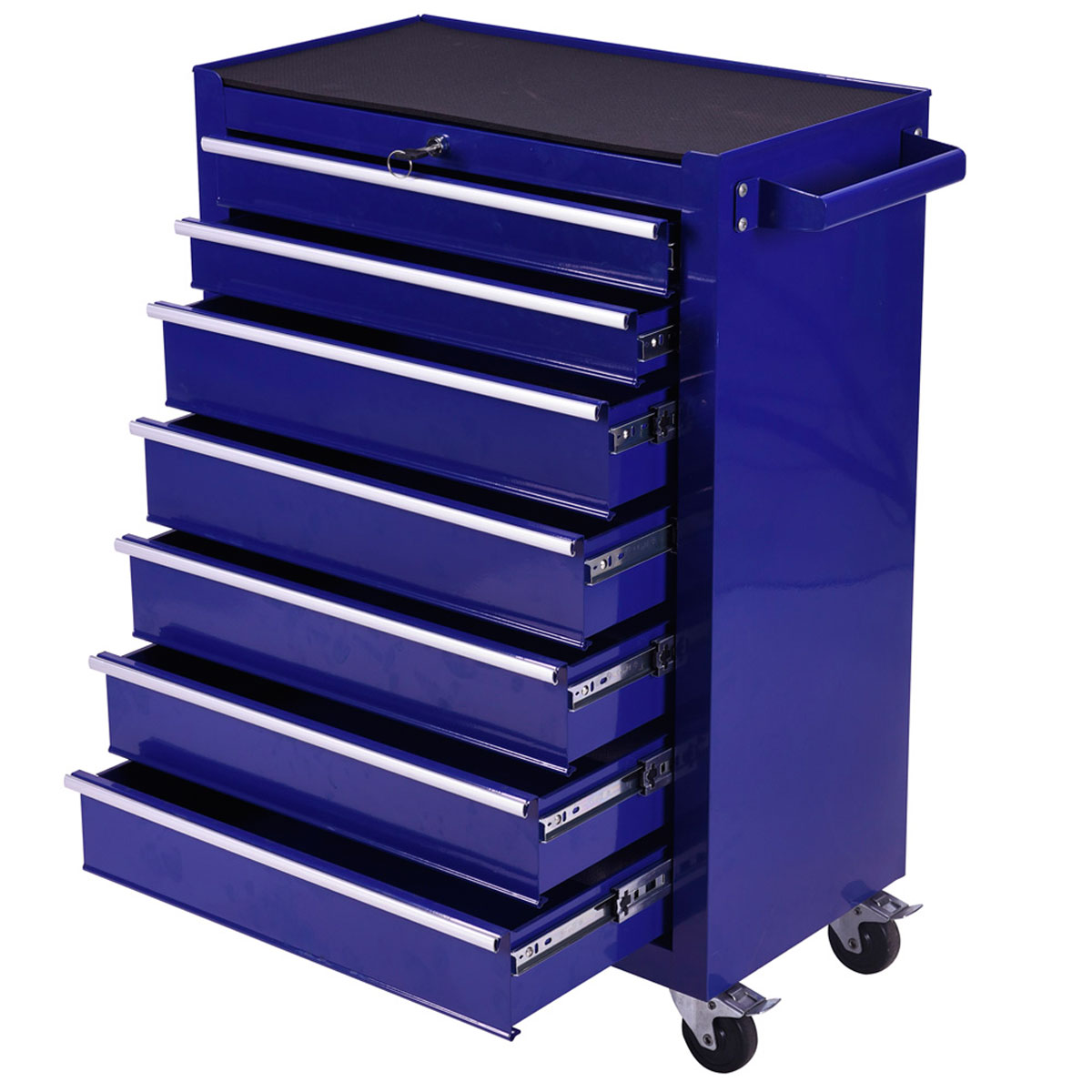 Brilliant Rolling Office Storage Cabinet Wood And SilverColored Metal