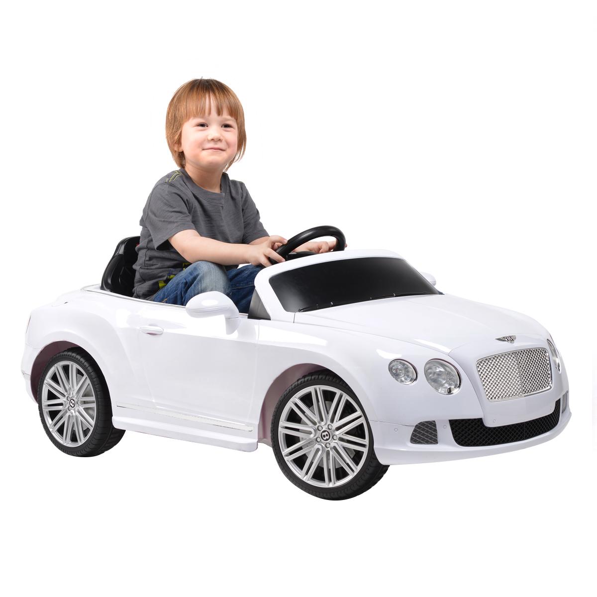 Bentley Kids Electric Cars Licensed 6v 12v Kids Bentleys: Bentley GTC Licensed Children's 6V Electric Ride On Car