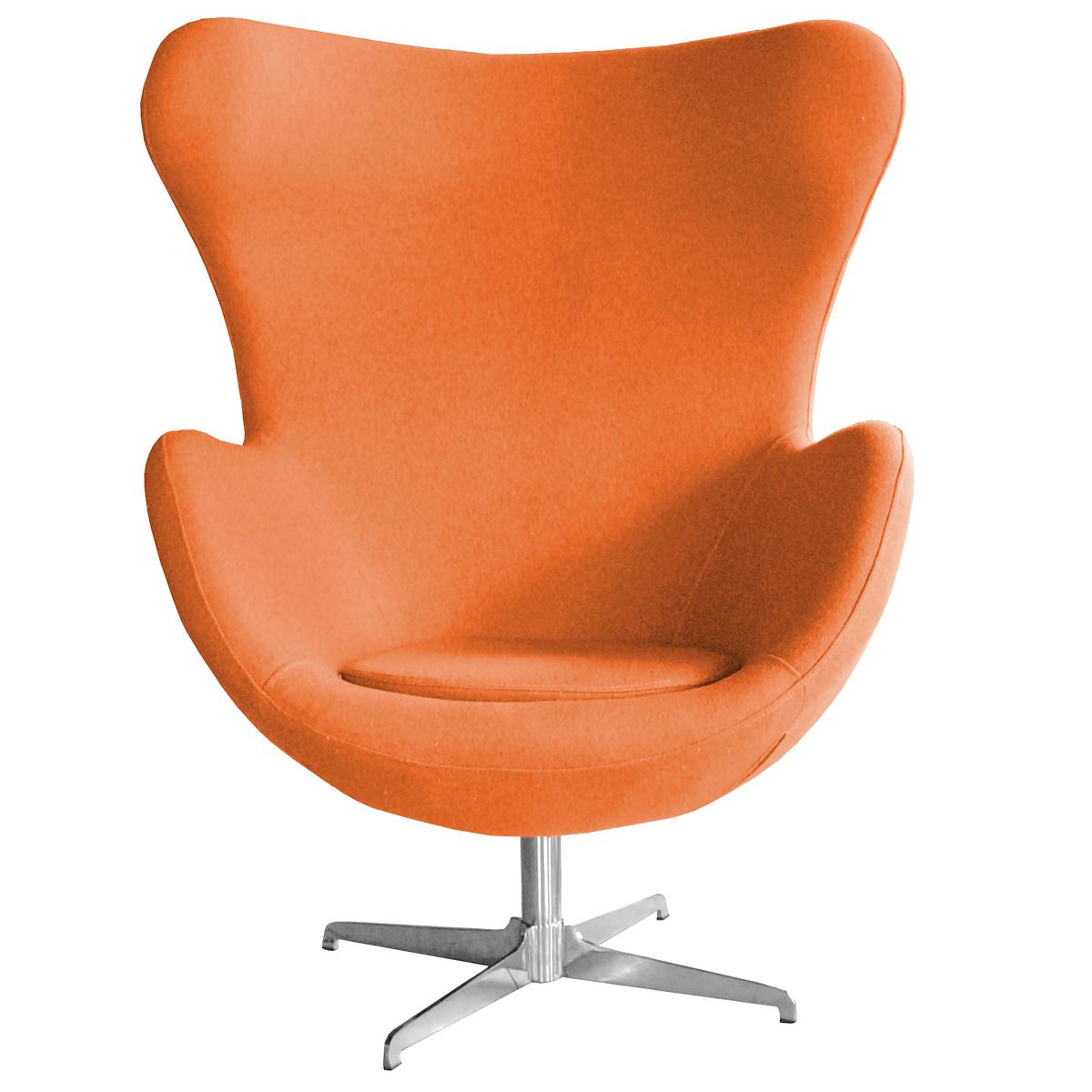 retro arne jacobsen inspired designer swivel wool egg. Black Bedroom Furniture Sets. Home Design Ideas