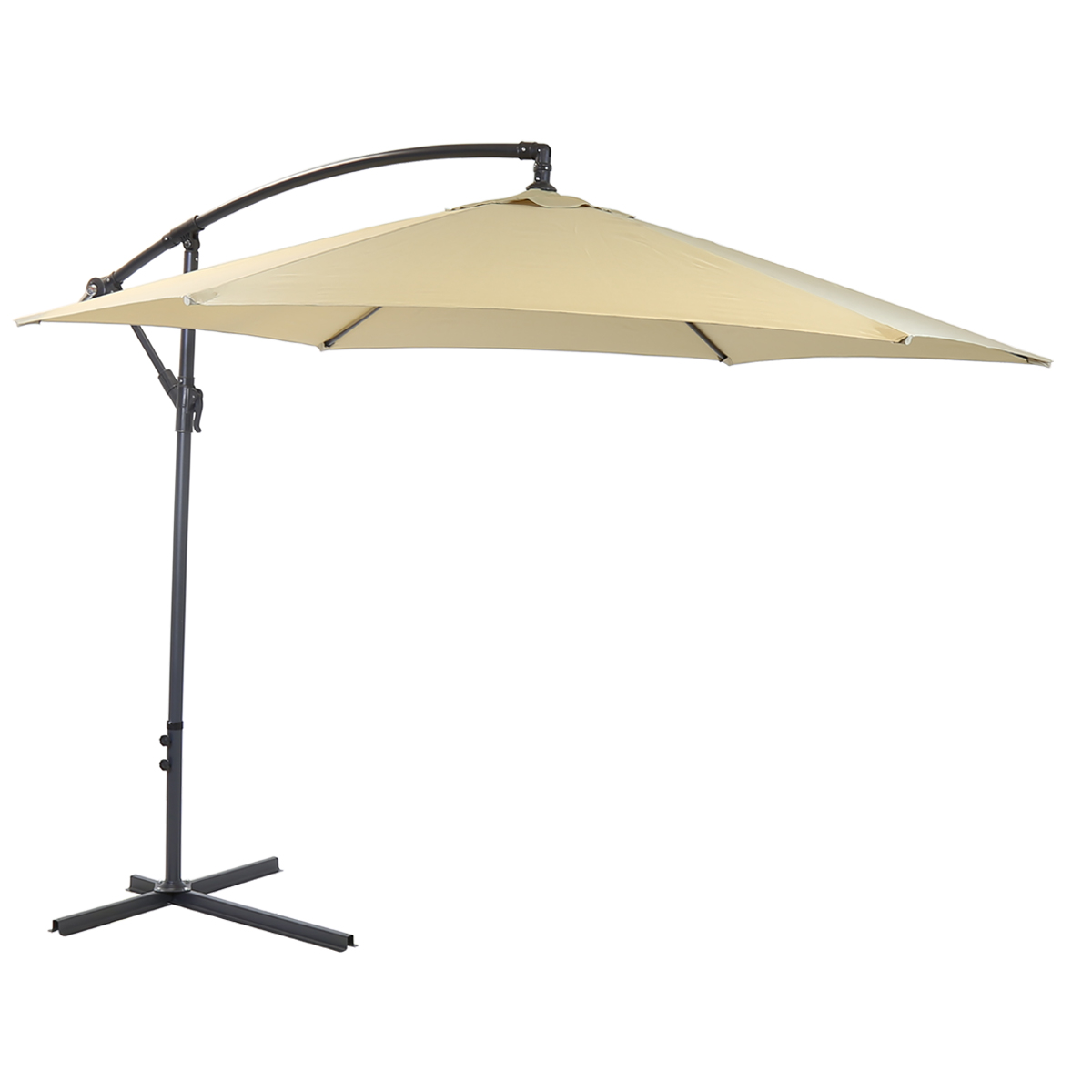 bentley garden 3m hanging banana patio garden umbrella. Black Bedroom Furniture Sets. Home Design Ideas