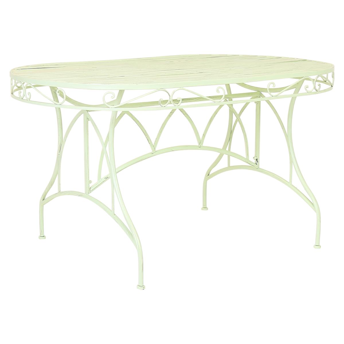 Charles Bentley Garden 7 Piece Wrought Iron Furniture