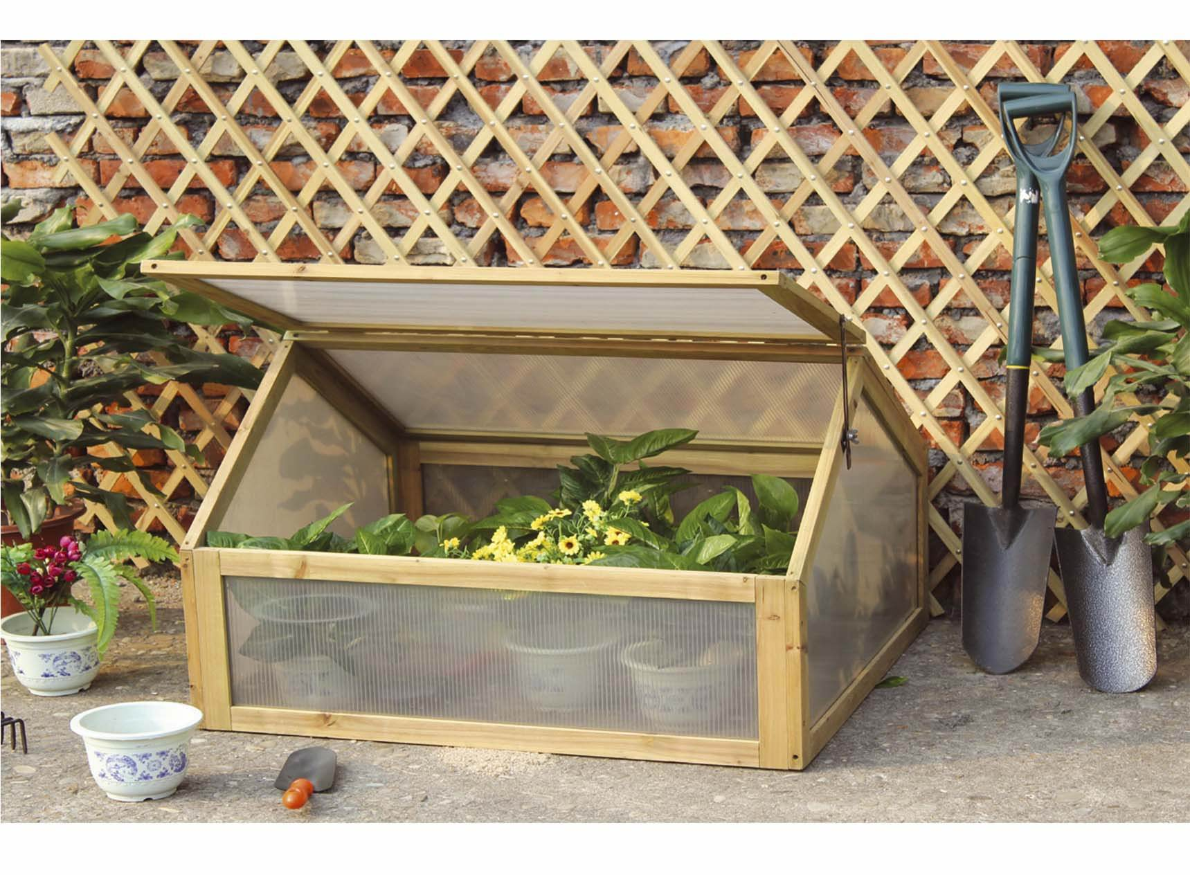 Mini serra da giardino in legno ebay - Mini serra da interno ...