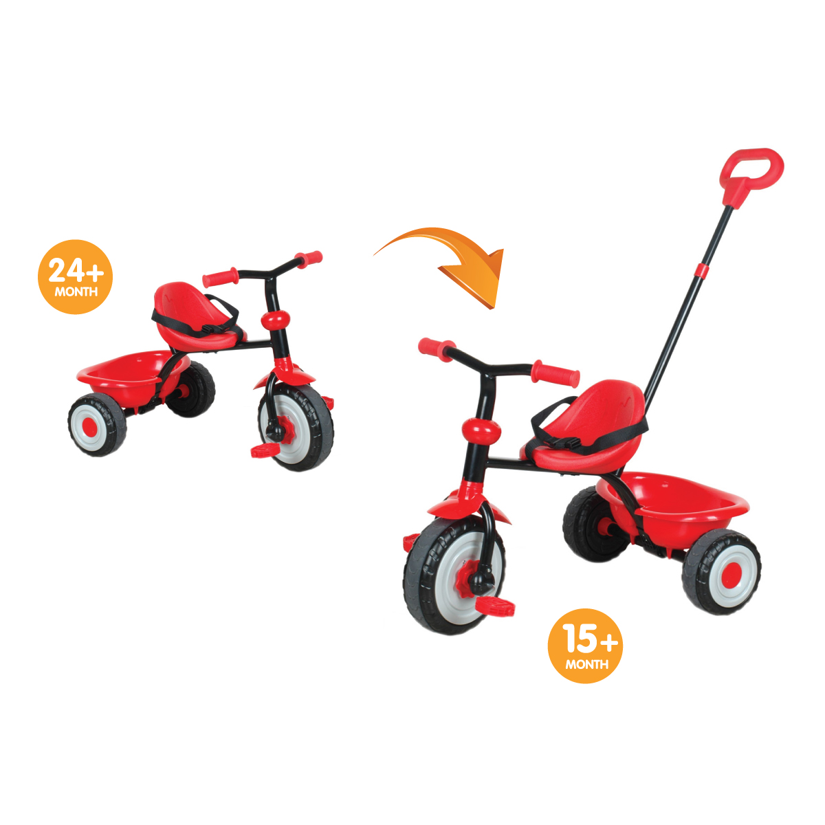 Toddler Bike With Parent Handle