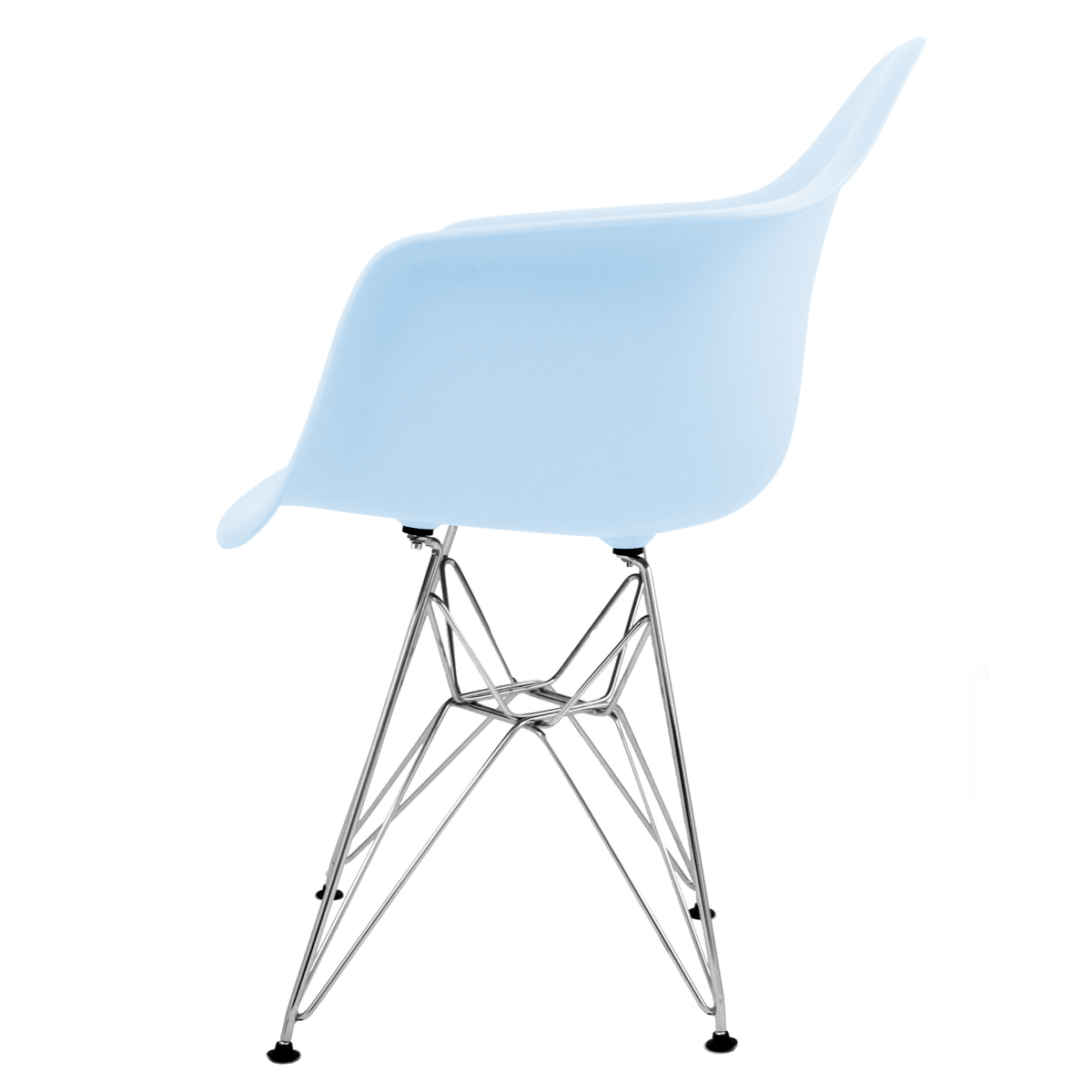 Retro Designer Inspired 'Eiffel' Lounge Dining Side Arm Chair - Various Colours