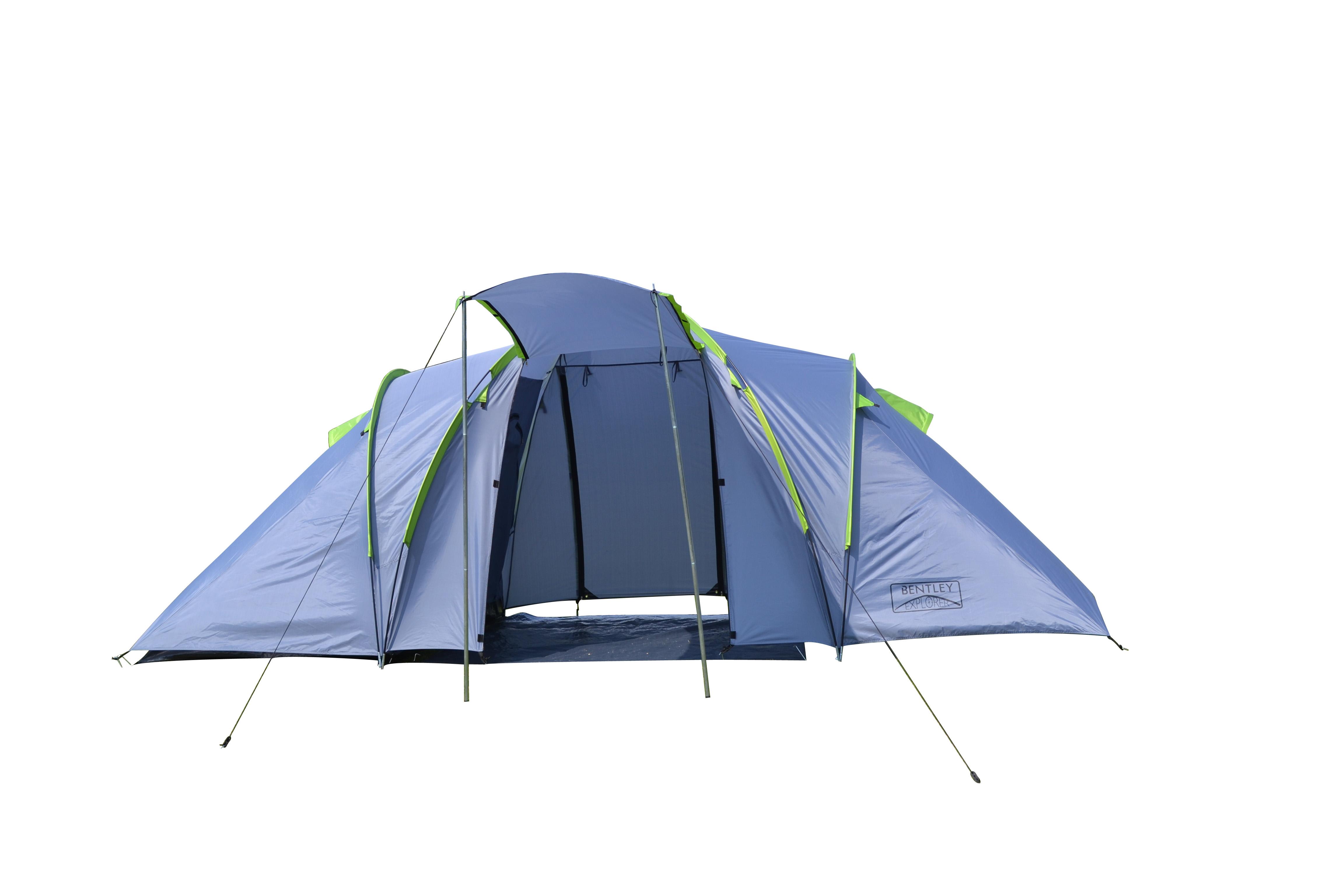 Bentley explorer 4 personne quatre homme family camping for Tente 4 personnes 2 chambres