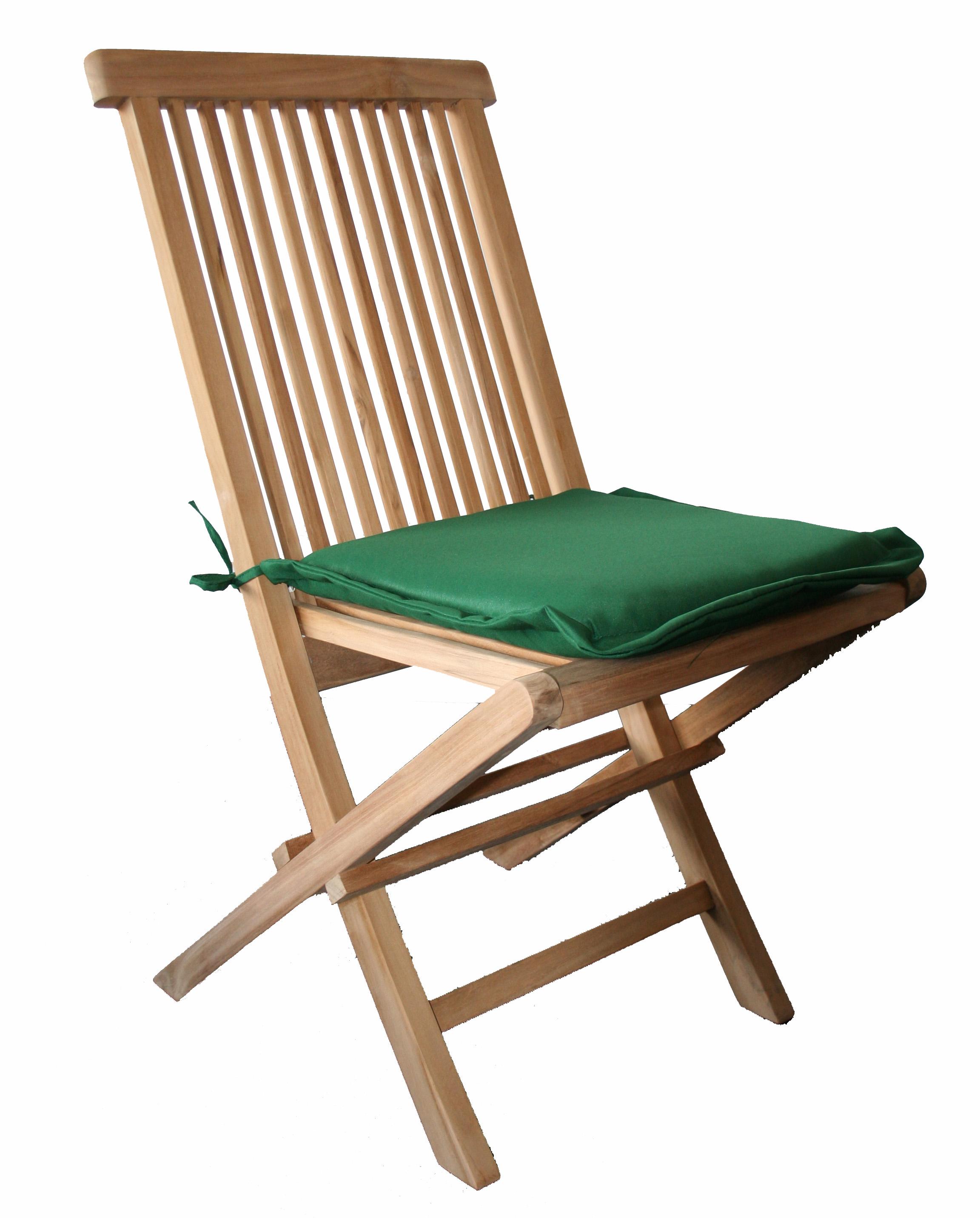 1 x coppia di sedia da giardino cuscini per seduta pad for Cuscini x sedia