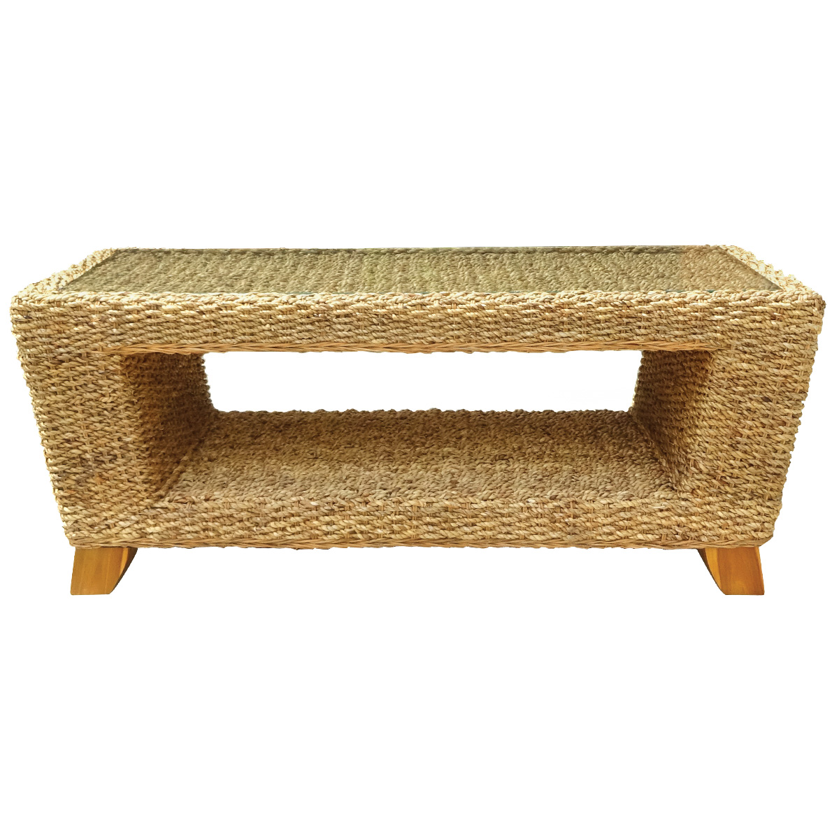 Charles bentley natural water hyacinth conservatory coffee table image is loading charles bentley natural water hyacinth conservatory coffee table geotapseo Image collections