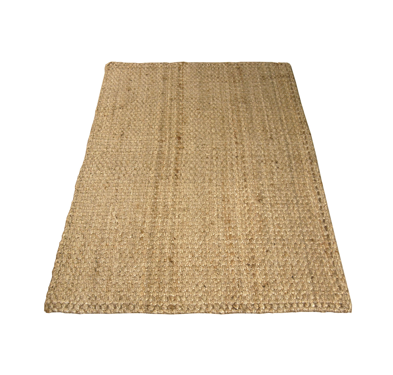 Charles Bentley 100x150cm 100 Natural Jute Rug Hallway