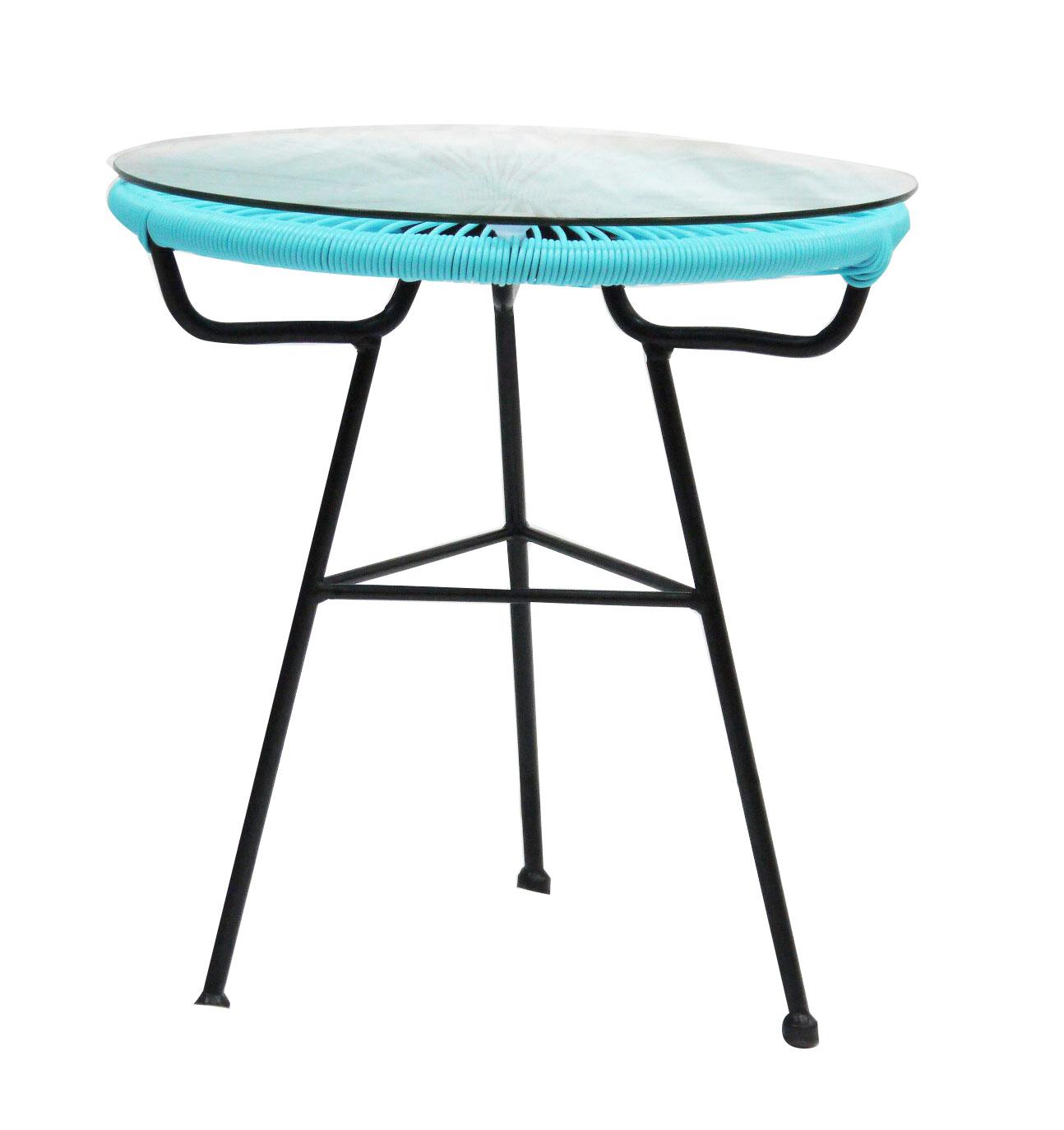 Bentley Garden Retro Round Table Salon Rotin Furniture