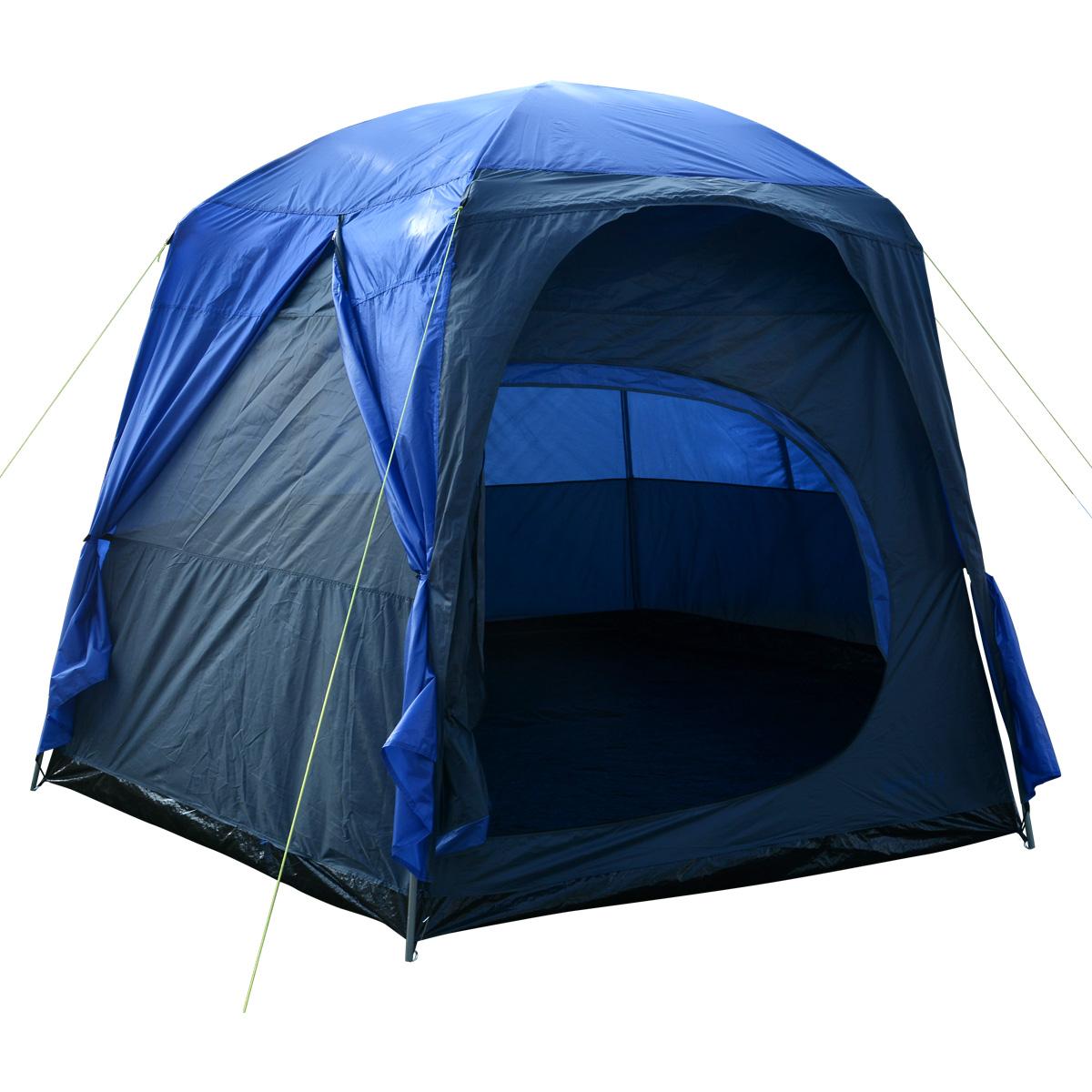 Charles Bentley 6-8 Person Waterproof Tent Camping Outdoor ...