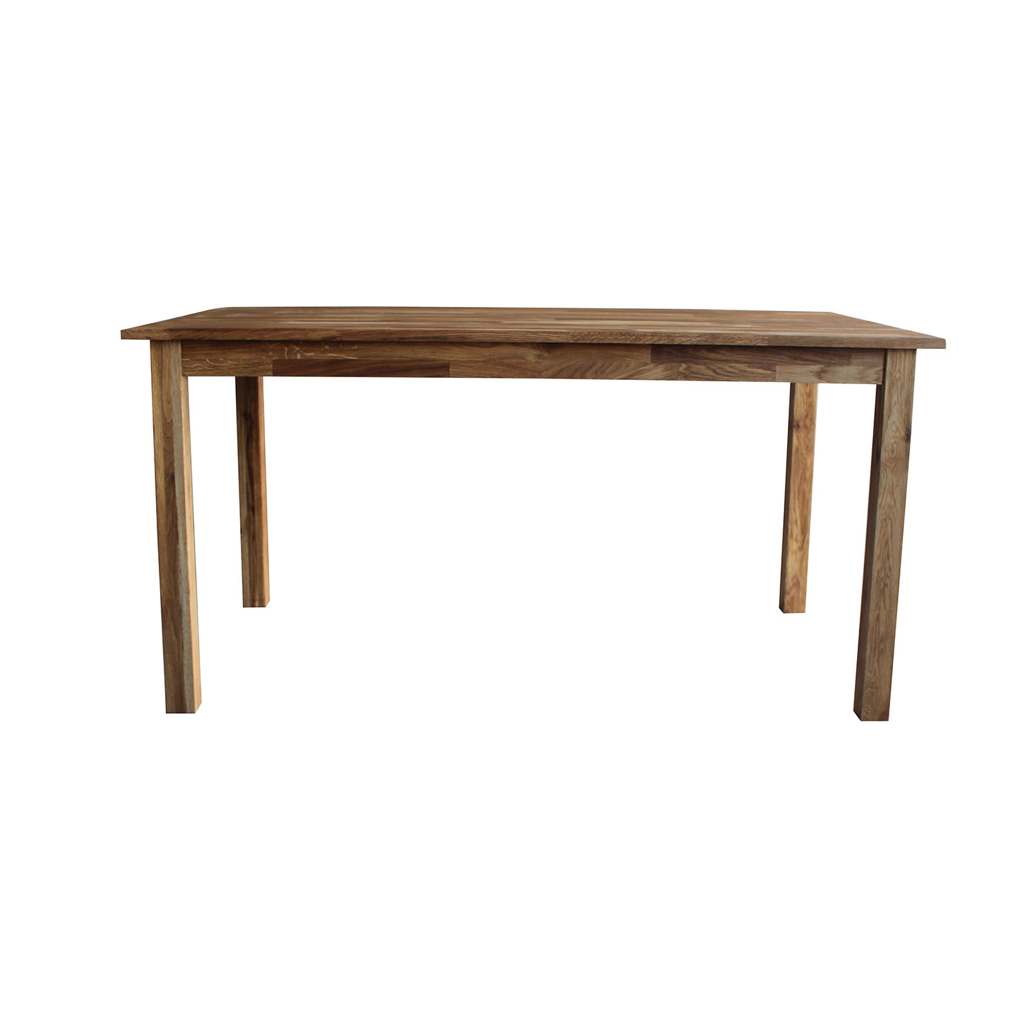 solid oak 6 8 seater wooden dining table rectangular 150cm lngth