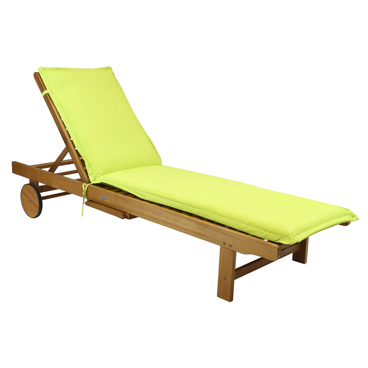 cushion for garden patio sun lounger sunbed green grey