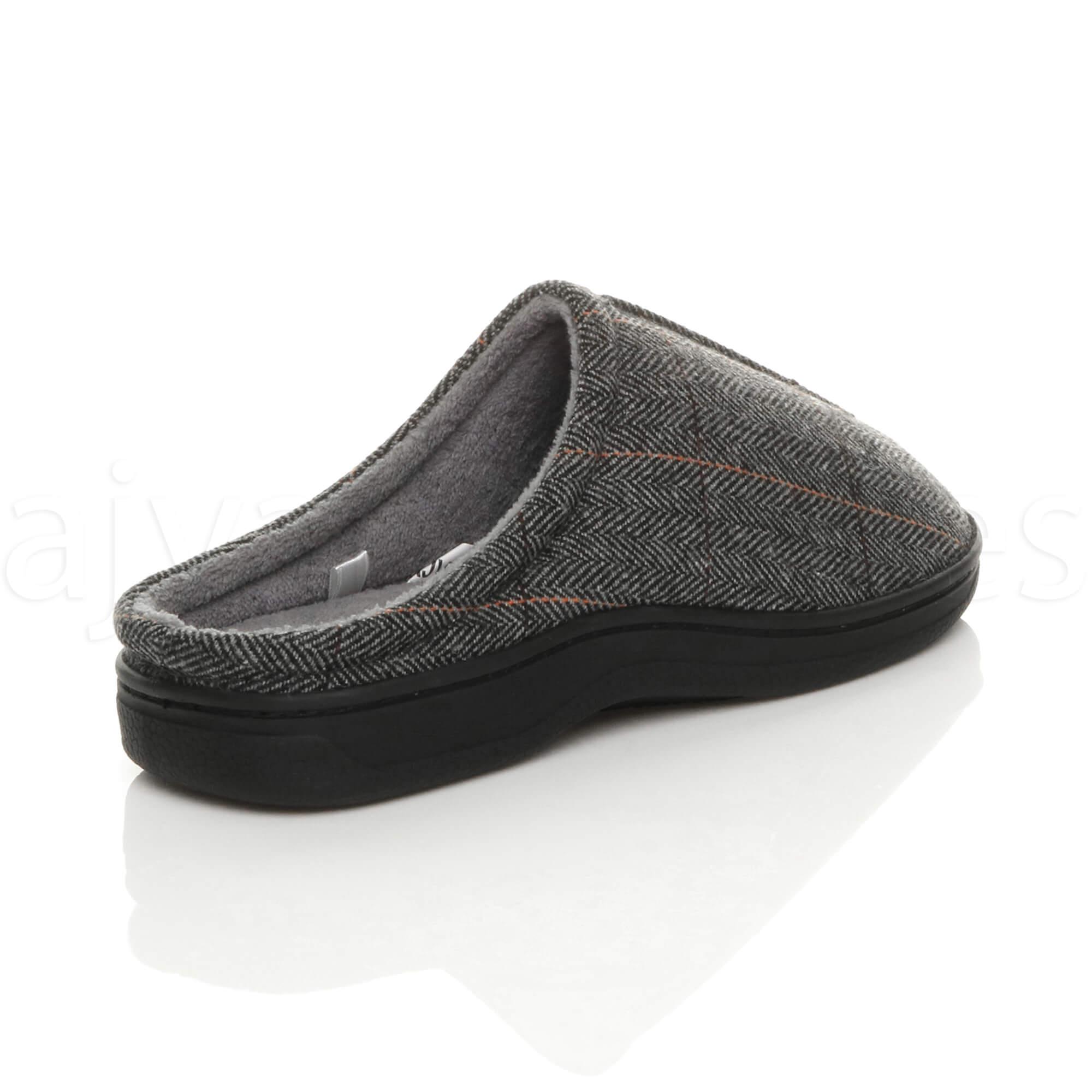 Homme d/'Hiver Plates Fourrure Doublé Lacet Mousse à Mémoire Cadeau Mules Pantoufles Chaussures Taille