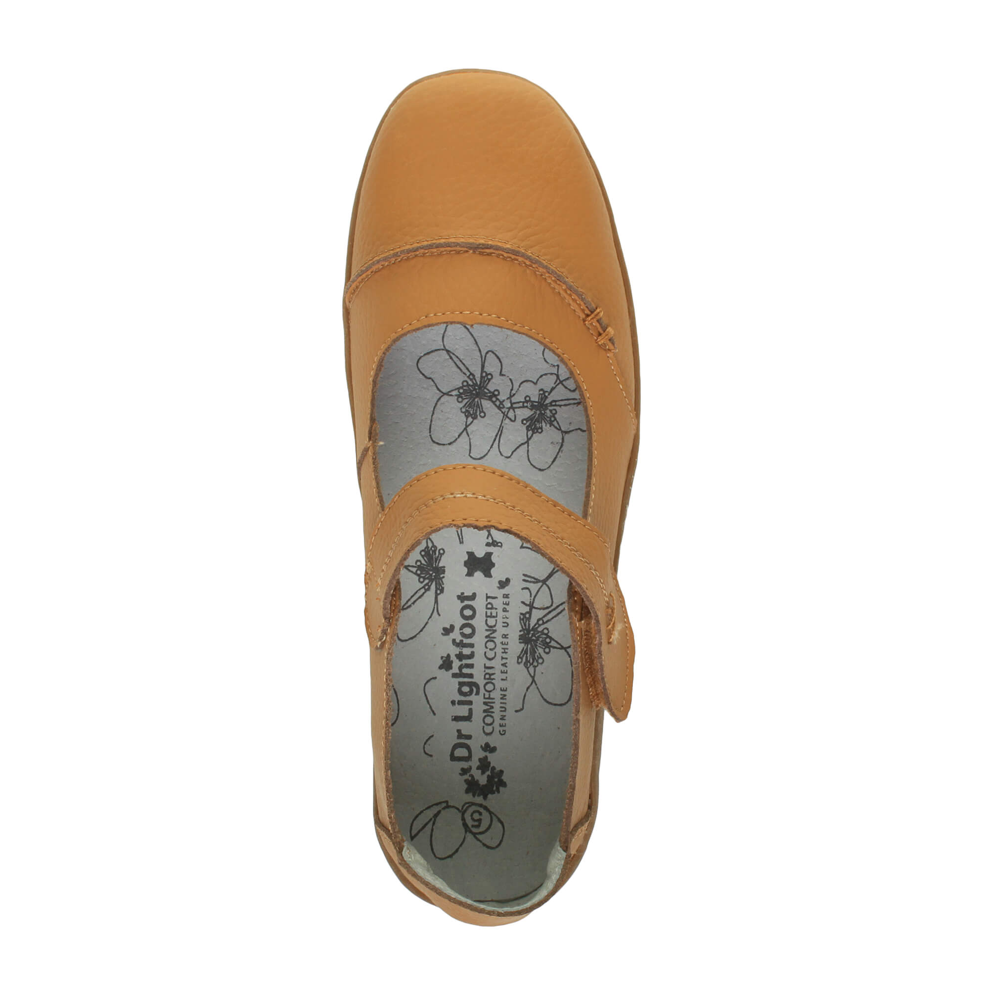 WOMENS-LADIES-LEATHER-COMFORT-STRAP-WALKING-CASUAL-SANDALS-MARY-JANE-SHOES-SIZE