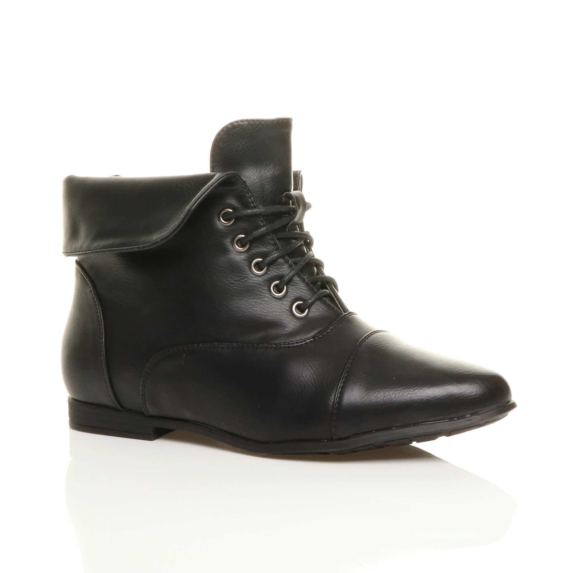 Creative 28 Awesome Womens Suede Lace Up Ankle Boots Flat | Sobatapk.com