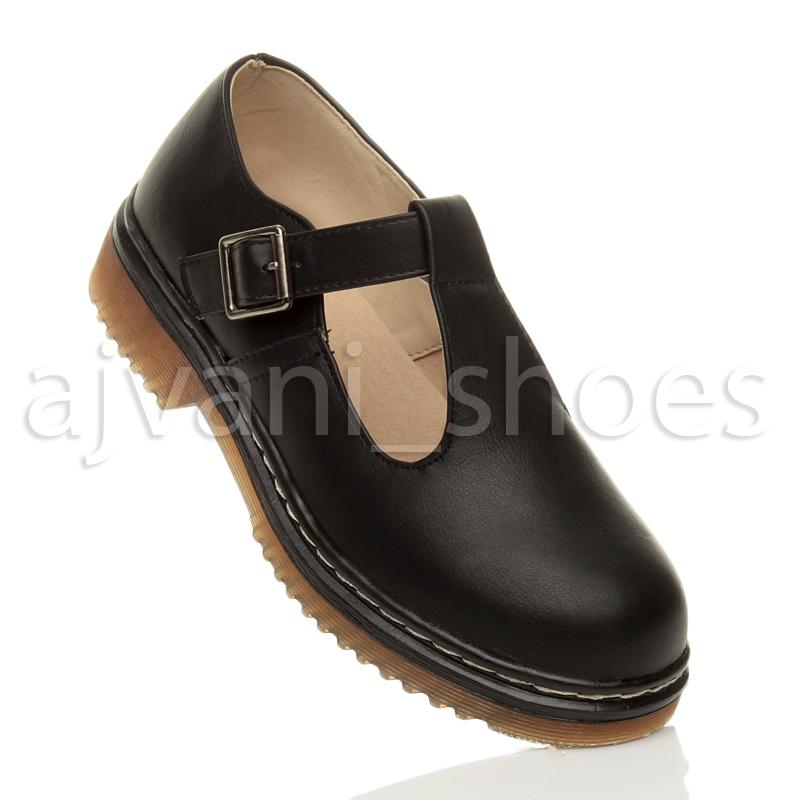 Chunky T Bar Shoes Womens